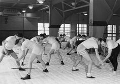 Coach Collins Practices with Wrestling Team, undated by Michigan State University Archives, via Flickr