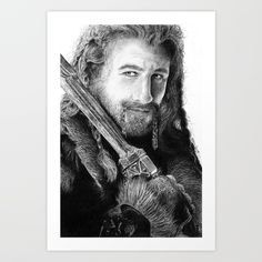 Fili from the Hobbit by J.R.R. Tolkien