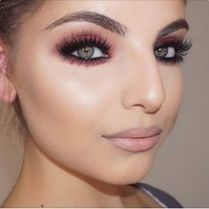Cranberry Shadow - makeup ideas smokey eyes makeup