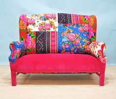 Hey, I found this really awesome Etsy listing at https://www.etsy.com/listing/86819632/pink-fever-wing-patchwork-sofa