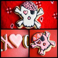 Valentine's cookies www.facebook.com/mysweetshack