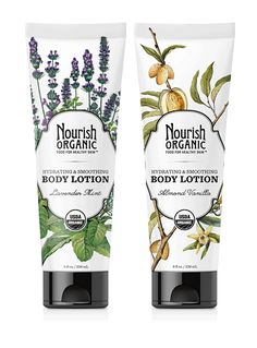 Hydrating & Smoothing Organic Body Lotion Duo Set - $17.98 (Save 10%)  #crueltyfree  #LeapingBunny certified brand