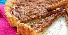 Kryddiga desserter är populära i Sydafrika. Kanelpajen är ljuvlig med en kopp rooibos-te.