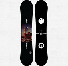 Burton x Pink Floyd Whammy Bar Snowboard