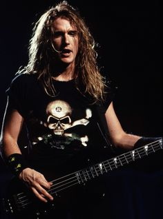 David Ellefson - I actually met him today at a comic convention :) ~Amberstar