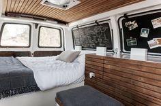 23-Year-Old Filmmakers Cargo Van Tiny House 003