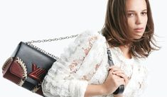 Alicia Vikander for Louis Vuitton Twist handbag 2016 campaign