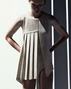 Stoll Trend Collection S/S 2013, Architectural Knits. via Knitting Industry: