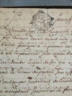 Antique French Documents  www.fleaingfrance.com/fr/