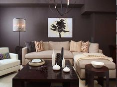 contemporary with African decor