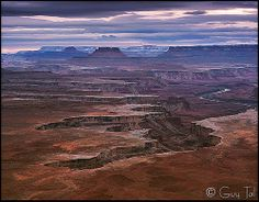 Cold Sunset on the Mesa by Guy.Tal, via Flickr