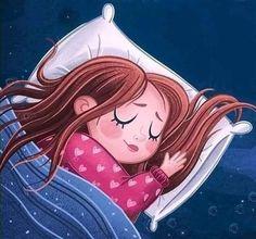 Digital Art Girl, Good Night Quotes, Cartoon Characters, Fictional Characters, Nara, Sweet Dreams, Baby Shower, Disney Princess, Illustration