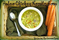 "I've been making a batch of soup every week for the last month or so. I love how easy soups are to make. They're packed full of nutrients, especially if you use homemade bone broth. This week I've been enjoying Paleo Chicken ""Noodle"" Soup. Made with homemade chicken bone broth, vegetables, pasture raised chicken and …"
