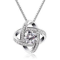 Oferta: 16.99€ Dto: -72%. Comprar Ofertas de B.Catcher Collar de plata de ley con diamante para mujer,Con una caja(48cm de longitud) barato. ¡Mira las ofertas!