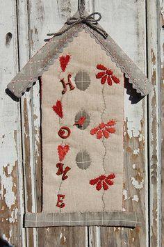 Birdhouse By Delphine Mongrand