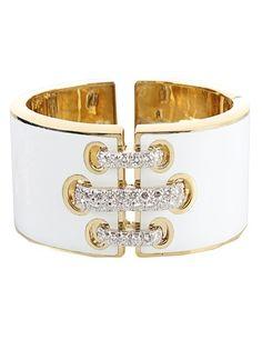 DAVID WEBB BANGLES AND BRACELETS | David Webb Laced Bracelet #jewelry | Accessorize