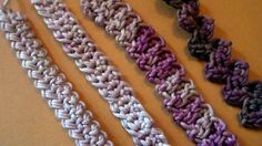 Spighette all'uncinetto Crochet Cords tutorial Parte 2 Livello avanzato