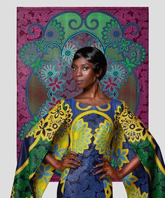 "Vlisco's ""Jeu De Couleurs"" Collection"