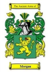 Morgan family crest  - Wales. My family's crest on my mother's side...