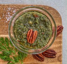 Pesto sárgarépa zöldből Palak Paneer, Tofu, Pesto, Ethnic Recipes