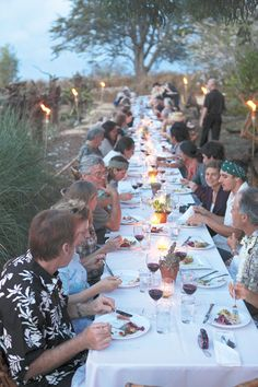Mark Noguchi will further in his role as guest chef at an outdoor dinner produced by Outstanding in the Field (OITF).