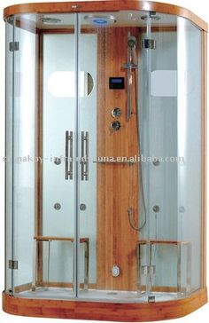 LED Therapy Steam Shower Cabin