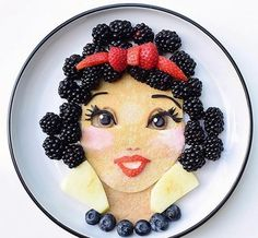 ❥ Snow White | Food Art