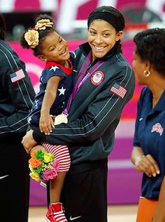 Candace Parker, with her daughter Lailaa, plans to return for a third Olympics in 2016.