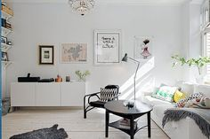Wonderful and bright Stockholm Apartment by Johanna Laskey on Home Adore