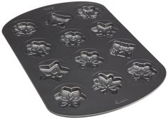 Wilton 12 Cavity Nonstick Snowflakes Cookie Pan (2 Pack) ** Awesome product. Click the image at  : baking necessities