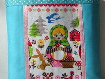 "Kindertasche  Unikat  ""Matrjoschka"" Pot Holders, Vintage, Handmade, Hot Pads, Potholders, Vintage Comics"