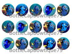 Disney Nemo Bottle Cap Images, Dory Bottle Cap Images, Bottle Cap Images, Dory, Digital Bottle Cap Images, Instant Download Bottle Cap Image $0.99