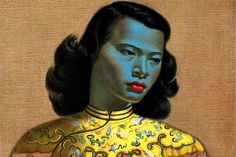 'Chinese Girl': The Mona Lisa of kitsch - News - Art - The Independent - love the story of the model Monika Pon, the artist Vladimir Tretchikoff & the owner Mignon Buehler. As seen on Call the Midwife. Chinoiserie, Kitsch Art, Female Pictures, Popular Art, Mid Century Art, Woman Painting, Painting Art, Decoration, Art Inspo