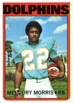 1972 topps in action football cards | on card mercury morris card number 331 year 1972 set name 1972 topps ...