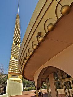 Marin County, California Civic Center - Frank Lloyd Wright, Architect - (#1) by sswj, via Flickr