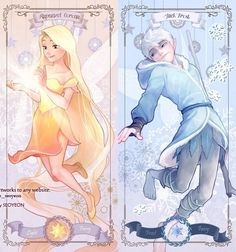 Jack Frost e Rapunzel Corona Disney Au, Disney Fan Art, Cute Disney, Disney Dream, Disney And Dreamworks, Disney Magic, Disney Movies, Disney Pixar, Walt Disney