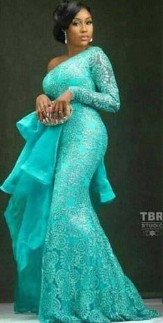 nigerian dress styles Asoebi Styles for wedding:check out 25 stunning and beautiful Asoebi styles for wedding African Lace Styles, African Lace Dresses, Latest African Fashion Dresses, African Dresses For Women, African Print Fashion, African Attire, African Women, Nigerian Dress Styles, African Traditional Wear
