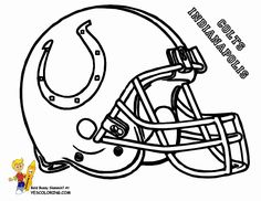 Slide crayon on AFC Football Helmet Coloring pictures. Now kids can have print outs of NFL Football sports coloring of Buffalo Bills, Chiefs, Raiders, Chargers. Cool Football Helmets, Titans Football, Kids Helmets, Nfl Football Teams, Football Stuff, Kansas City Chiefs, Green Bay Packers, Football Coloring Pages, Pittsburgh Steelers Logo