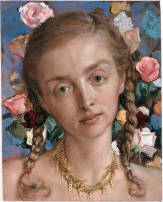 'Rachel in the Garden' (2003) by John Currin