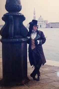 My 18th C. Costume French Revolution for Carnevale di Venezia 1999 by Antonio Broccoli Porto