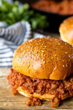 The Best Sloppy Joes are homemade and delicious enough for adults and kids alike! The whole family will love this delicious easy dinner.