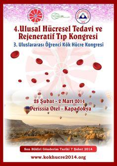 4. Ulusal Hücresel Tedavi ve Rejeneratif Tıp Kongresi: http://www.tumkongreler.com/kongre/4-ulusal-hucresel-tedavi-ve-rejeneratif-tip-kongresi #Hematology #StemCell #Cappadocia