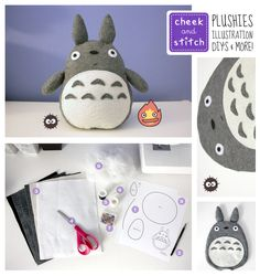 1x1.trans DIY Kawaii Studio Ghibli Crafts & Noms