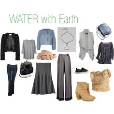 WATER with Earth, created by expressingyourtruth on Polyvore