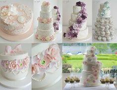 More beautiful wedding cakes.