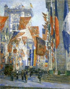 Avenue of the Allies 02 - Childe Hassam