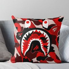Throw Pillows Bed, Bed Throws, Designer Throw Pillows, Floor Pillows, Decorative Throw Pillows, Bedroom Setup, Room Design Bedroom, Room Ideas Bedroom, Bedroom Ottoman