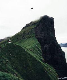 Kalsoy, Faroe Islands #openmyworld with @jedforster