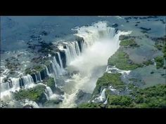 Iguazú Falls or Iguaçu Falls are waterfalls of the Iguazu River on the border of the Argentine province of Misiones and the Brazilian state of Paraná. Iguazu National Park, Parc National, National Parks, Jog Falls, Puerto Iguazu, American Falls, Famous Waterfalls, Iguazu Waterfalls, Largest Waterfall