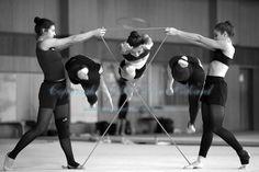 Rhythmic Gymnastics Team (BRA) Olympic Training 2008